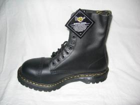 Topánky Dr. Martens 8761  10.dierkové s prešitou oceľovou špičkou, čierne