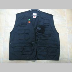 Vesta BDU tenká čierna 65%polyester 35%bavlna