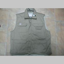 Vesta BDU hrubá zimná, farba piesková 35%bavlna 65%polyester posledné kusY - veľkosti M a XXL.
