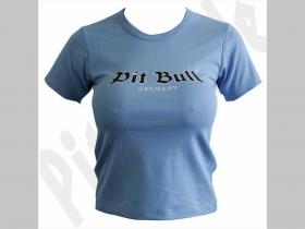 Pit Bull   G0503  Dámske tričko bledomodré  100%bavlna