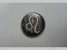 Znamenie Lev, odznak priemer 25mm