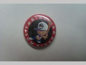 Antifašistická akcia, odznak priemer 25mm