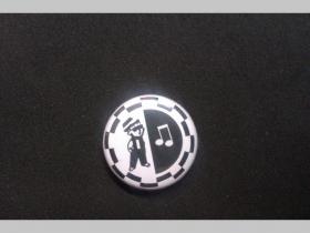 Ska, Reggae, odznak priemer 25mm