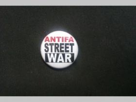 Antifa Street War, odznak priemer 25mm