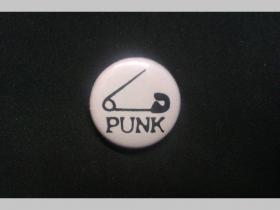 Punk Zicherka, odznak priemer 25mm