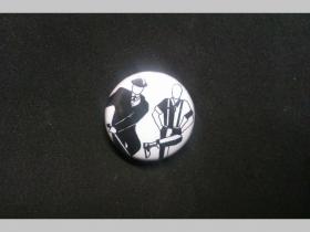 Skaman and Skinhead, odznak priemer 25mm