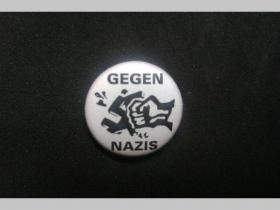 Gegen Nazis, odznak priemer 25mm