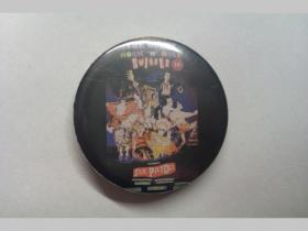 Sex Pistols, odznak priemer 37mm