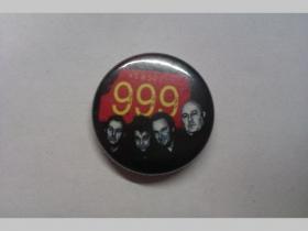 999, odznak, priemer 25mm