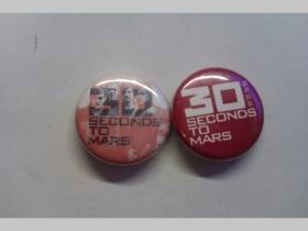 30 Second to Mars, odznak priemer 25mm cena za 1ks (počet kusov a konkrétny model napíšte na konci objednávky do rubriky KOMENTÁR)