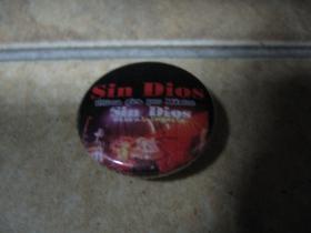 Sin Dios,  odznak 25mm