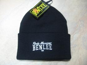 Ben Lee, zimná čierna čiapka WHISTLER, čierna s vyšívaným logom, veľkosť UNI
