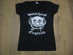 Motorhead čierne dámske tričko 100%bavlna