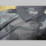 Nočný maskáč, pánska funkčná taktická polokošela materiál 100% polyester hladký