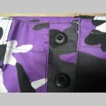 """Nohavice BDU """" kapsáče """" 65%bavlna 35%polyester farba farebný vzor """" fialový METRO maskáč """""""