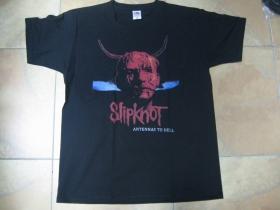 Slipknot čierne pánske tričko materiál 100%bavlna