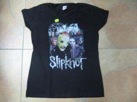 Slipknot čierne dámske tričko materiál 100%bavlna
