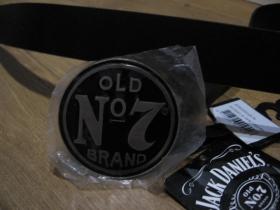 Jack Daniels kožený opasok s kovovou prackou posledný kus!!!! obvod pásu od 107 do 123cm