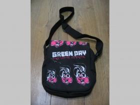 Green Day malá taška cez plece materiál 100% polyester rozmery cca. 27x21x7cm