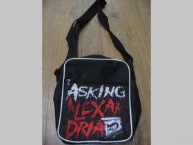 Asking Alexandria malá taška cez plece materiál 100% polyester rozmery cca. 26x20x8 cm