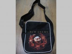 Arch Enemy malá taška cez plece materiál 100% polyester rozmery cca. 26x20x8 cm