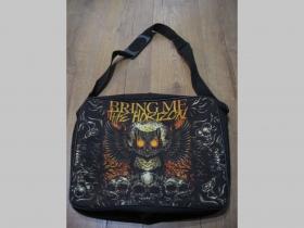 Bring me The Horizon  textilná taška cez plece, nastaviteľný pás materiál 100%polyester rozmery cca.38x31x10cm ( vhodná aj pre notebook )