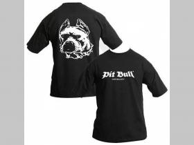 Pit Bull TS 0405 čierne pánske tričko 100%bavlna