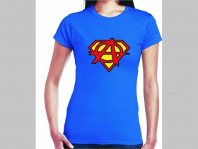 Anarchy Supergirl (superman) dámske tričko Fruit of The Loom 100%bavlna
