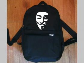 Anonymous  jednoduchý ľahký ruksak, rozmery pri plnom obsahu cca: 40x27x10cm materiál 100%polyester