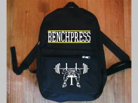 Bench Press  jednoduchý ľahký ruksak, rozmery pri plnom obsahu cca: 40x27x10cm materiál 100%polyester