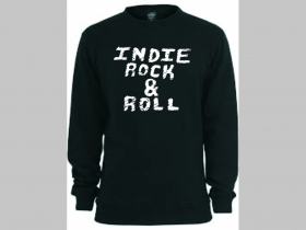 Indie Rock and Roll mikina bez kapuce