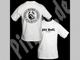 """Pit Bull  TS 0118  tričko """"In dog we trust"""" biele 100%bavlna"""