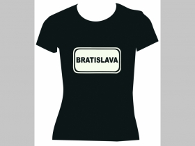 "Bratislava  ""tabuľa"" dámske tričko Fruit of The Loom 100%bavlna"
