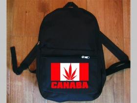 """Canaba """" Ganja """" jednoduchý ľahký ruksak, rozmery pri plnom obsahu cca: 40x27x10cm materiál 100%polyester"""