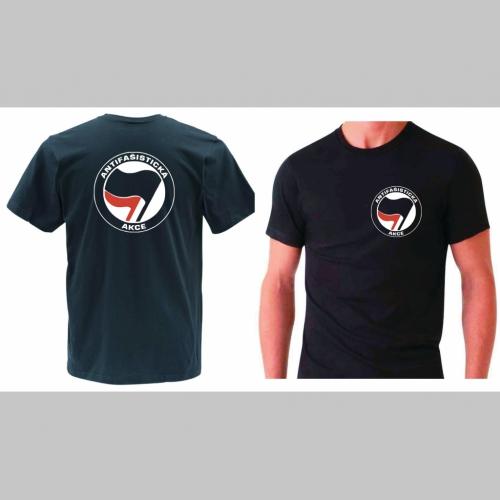 f9368933a767 Antifašistická akce pánske tričko s obojstrannou potlačou 100%bavlna značka  ...