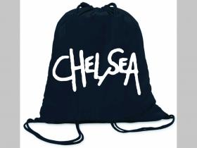 Chelsea ľahké sťahovacie vrecko ( batôžtek / vak ) s čiernou šnúrkou, 100% bavlna 100 g/m2, rozmery cca. 37 x 41 cm