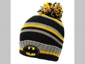 d4c47449a Batman zimná čiapka s brmbolcom materiál 100%akryl, univerzálna veľkosť