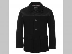 Lambretta  hrubá čierna bunda / kabát  typu DONKEY