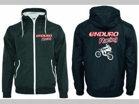 Enduro racing šuštiaková bunda čierna materiál povrch:100% nylon, podšívka: 100% polyester, pohodlná,vode a vetru odolná