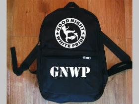Good Night White Pride  jednoduchý ľahký ruksak, rozmery pri plnom obsahu cca: 40x27x10cm materiál 100%polyester