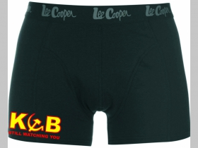 KGB Still Watching You čierne trenírky BOXER s tlačeným logom, top kvalita 95%bavlna 5%elastan