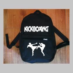 Kick Boxing jednoduchý ľahký ruksak, rozmery pri plnom obsahu cca: 40x27x10cm materiál 100%polyester