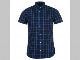 2557172821c7 Jack and Jones pánska modročierna košela s krátkym rukávom ...
