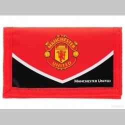 Manchester United  textilná peňaženka so zapínaním na suchý zips