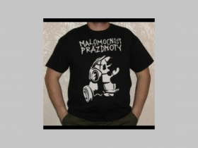 Malomocnost prázdnoty  čierne pánske tričko 100%bavlna