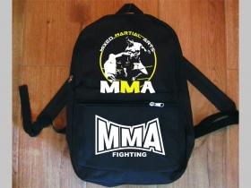 MMA Mixed Martial Arts jednoduchý ľahký ruksak, rozmery pri plnom obsahu cca: 40x27x10cm materiál 100%polyester