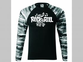 9193bd9ceb1d Rock n Roll pánske tričko (nie mikina!!) s dlhými rukávmi vo farbe