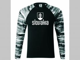 a2376302f7cc Slovakia pánske tričko (nie mikina!!) s dlhými rukávmi vo farbe