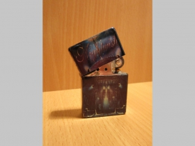 Nightwish, doplňovací benzínový zapalovač s vypalovaným obrázkom (balené v darčekovej krabičke)