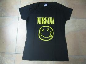 Nirvana,  dámske tričko 100%bavlna